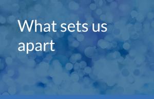 What Sets Us Apart - HELP & ADVICE