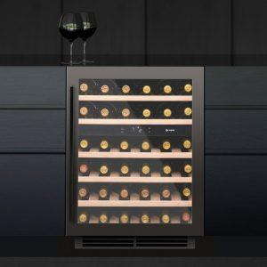 Caple WI6135GM 60cm Undercounter Dual Zone Wine Cooler