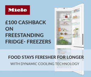 Miele homepage offer 4