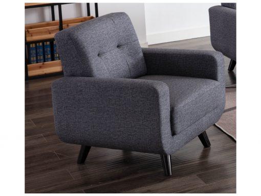 Tilly Dark Grey Armchair