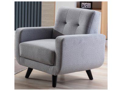 Tilly Light Grey Chair