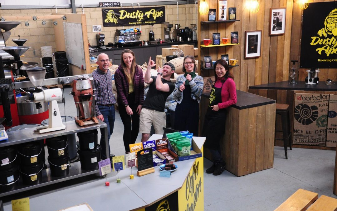 Dusty Ape Coffee Partnership
